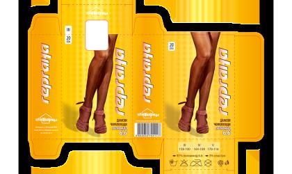 Кутия за дамски чорапогащи