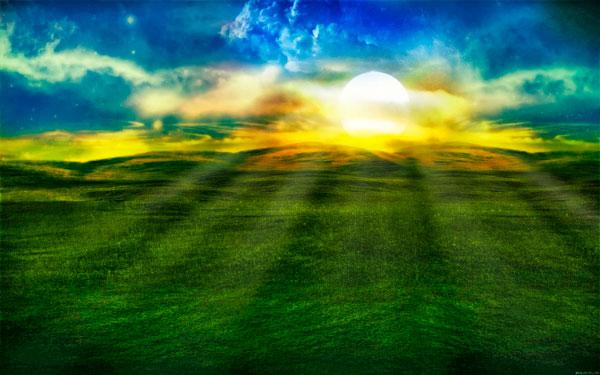 светлина, цветовете, пространството