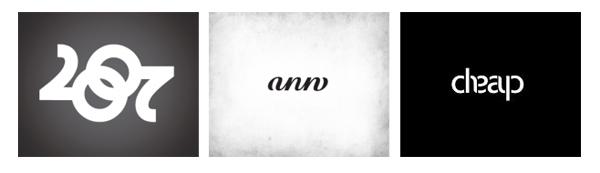 Амбиграми