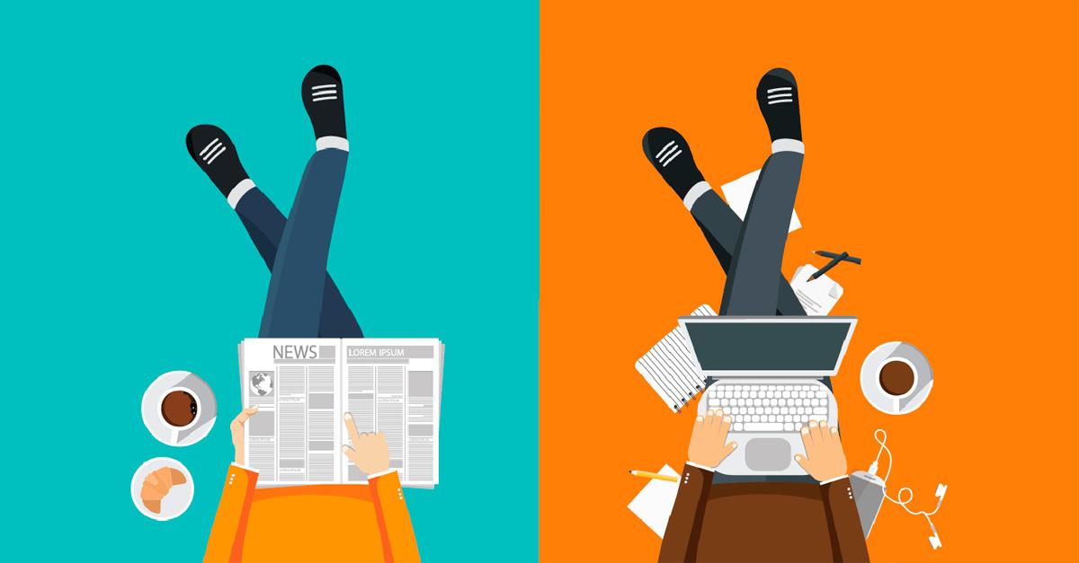 Разлики между печатен и уеб дизайн